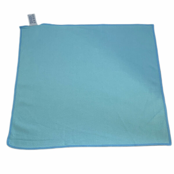 Glastuch blau