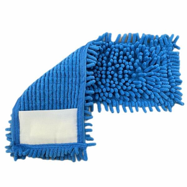 Chenillemopp blau 40/50 cm